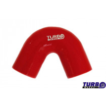 Szilikon könyök TurboWorks Piros 135 fok 51mm